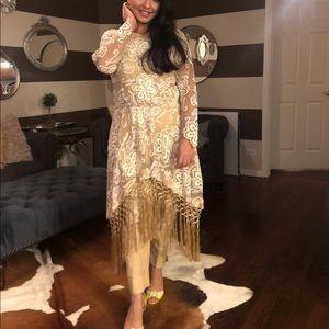 High low style pakistani shalwar Kameez designer
